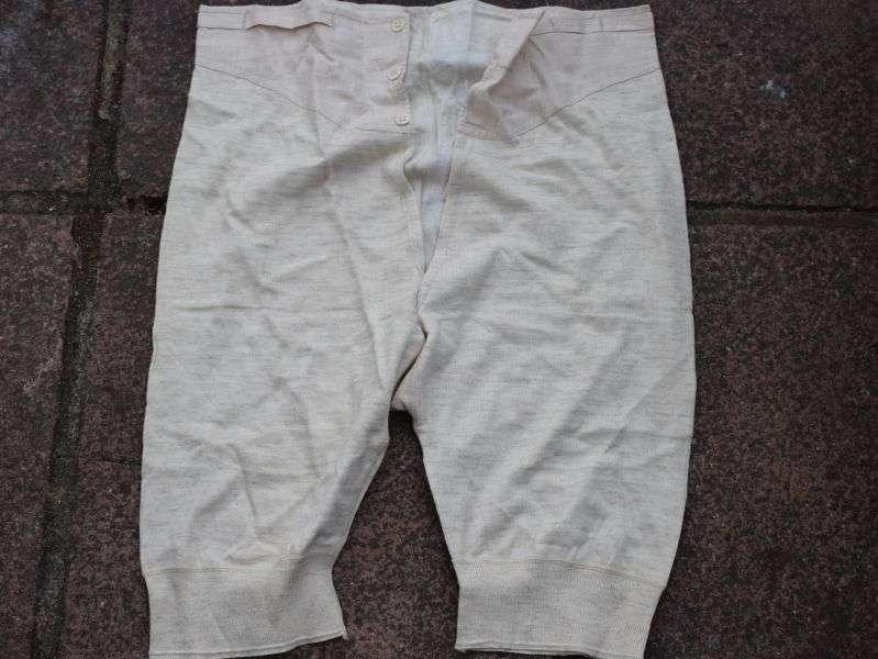 Original WW2 British Military Underpants