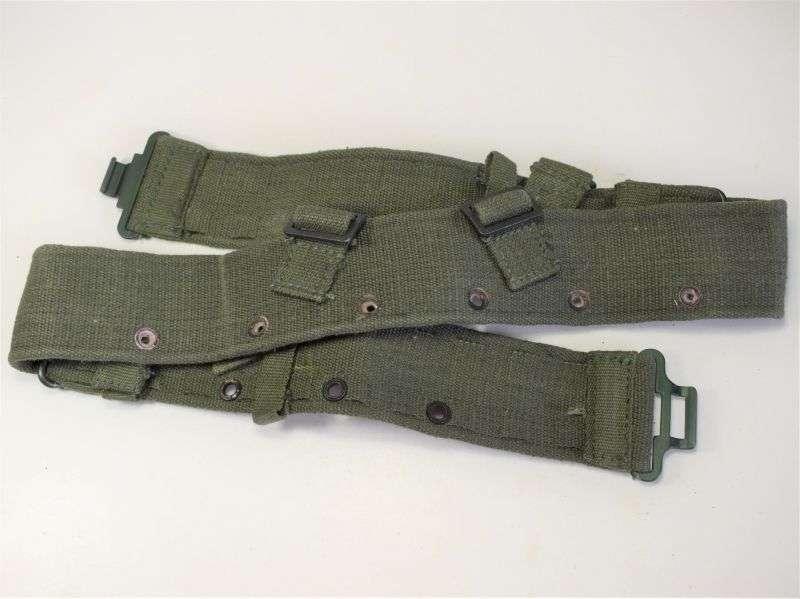 104) Mint Unissued British Army 1944 Pattern Jungle Issue Web Waist Belt