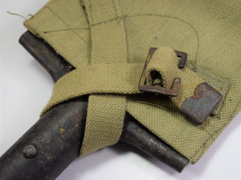 WW2 1939 Pattern Spade Type Entrenching Tool Dated 1941 & Cover