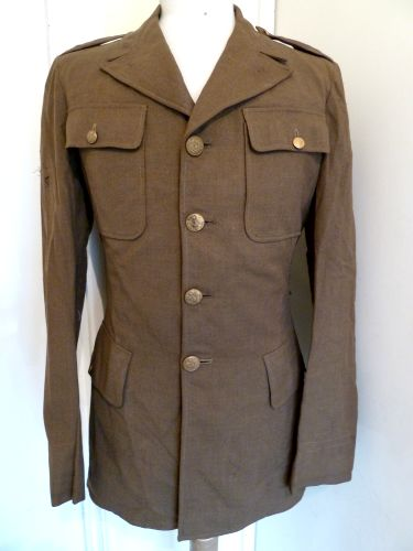 Early WW2 US Army 4 Pocket Jacket Used By Warner Bros