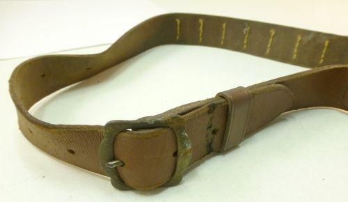 Vintage All Leather Shotgun Cartridge belt