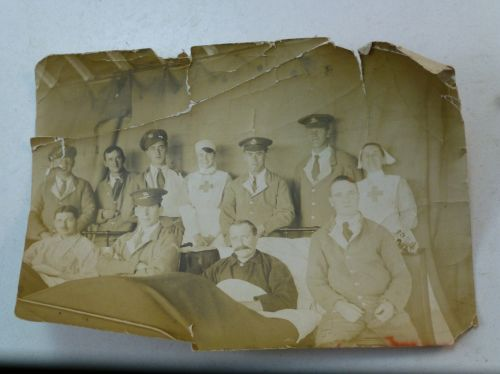 Original WW1 British Army Hospital Photo