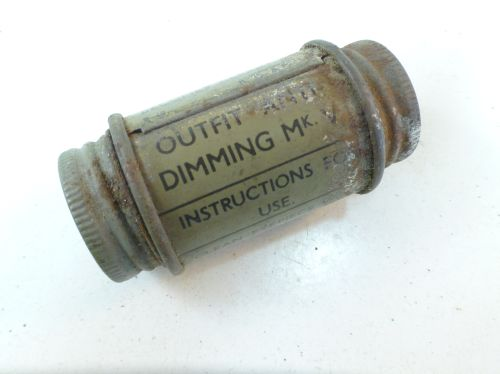 WW2 Outfit Anti-Dimming MKV dated 1940