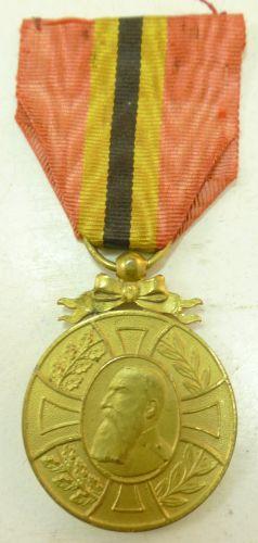 1st Pattern Belgian Commemorative Medal Reign of Leopold II