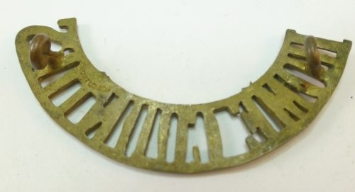 WW1 Home Counties Brass Shoulder Title