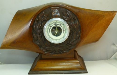Beautiful WW1 RFC RAF DH9 Propeller Hub Barometer