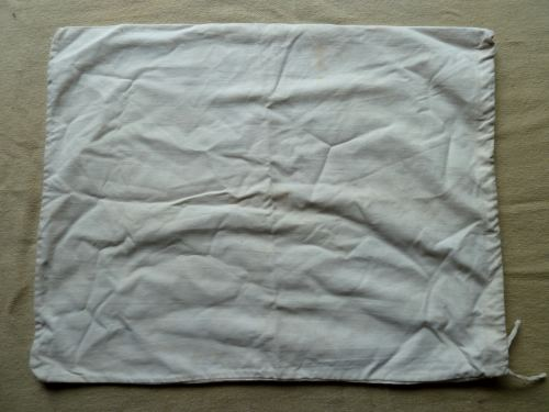 WW2 WRNS Issue White Laundry bag or pillow?
