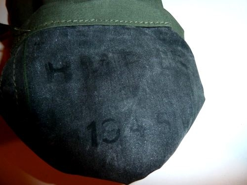 WW2 1944 PAT JUNGLE ISSUE WASH KIT POUCH 1945 P44