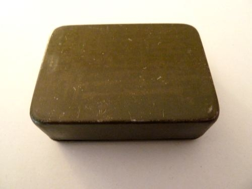 Small WW2 SOE Home Guard, Special Forces Percussion Cap Tin 1944