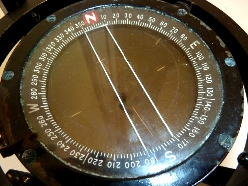 WW2 RAF P8 Compass With Special Gimbal Mounting RN ??