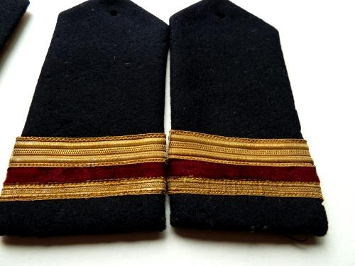 Interesting Victorian Naval Epaulettes to African Royal Mail