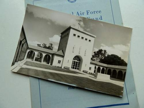 The Royal Air Force Benevolent Fund Pamphlet & Post Card