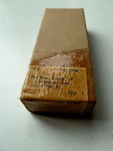WW2 Pen Bow Drawing Compass Mint & Boxed