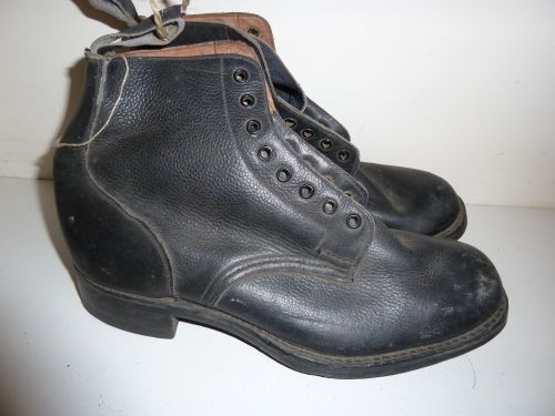 WW2 1941 Dated RAF Issue Rubber Soled Ammo Boots