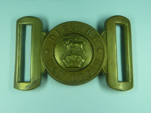 Original WW2 British Army GS Brass Belt Buckle