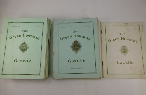 55 original The Green Howards Gazette 1936 to 1973