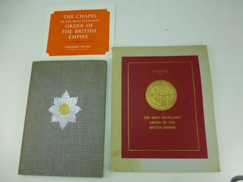 2 1970s Books Relating To The OBE