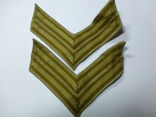 Original WW2 British Army KD Corporals Stripes