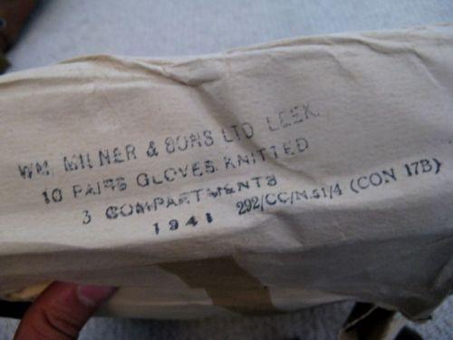 WW2 British Army Issue Commando Gloves