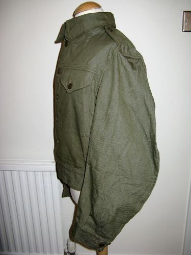 WW2 British Army , LDV & Home Guard Denim Battledress Blouse