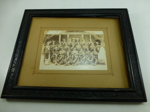 Original Early Photo Of Victorian Army Band
