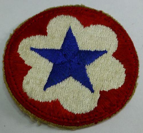 Original WW2 US Army Service Forces Cloth Badge