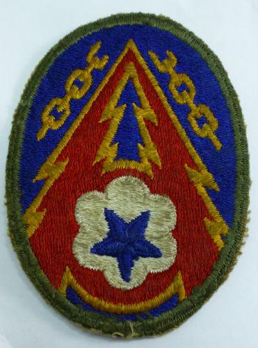 Original WW2 US Army ADSEC/COMS Cloth Badge