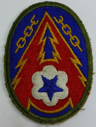 Advanced Sect Communications  Zone ETO Cloth Badge