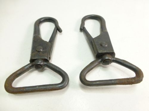WW2 British Army Heavy Duty Bren Gun Sling Clips