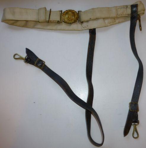 1930s – WW2 Royal Navy Officers Sword Belt