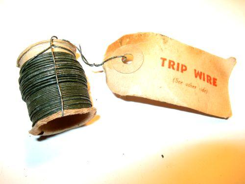 Original WW2 OSS SOE Issue Detonator Trip Wire