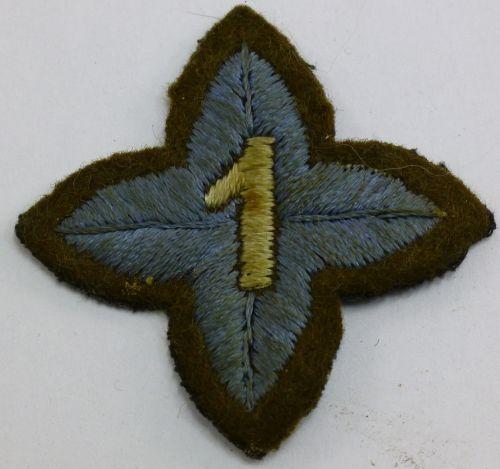 Original WW2 - 1950s? Army Cadet Qualification cloth badge