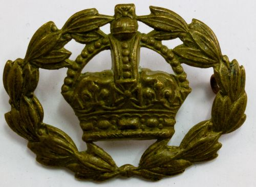 WW1 WW2 British Army Warrant Officers Brass Sleeve Badge