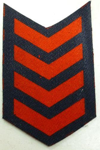 Original WW2 ARP Printed War Service Chevrons 4 Years