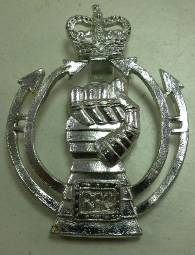 Royal Armoured Corps Stay-Bright Cap Badge By Gaunt