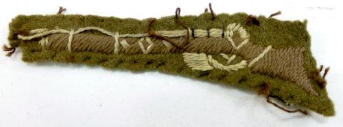 4 WW2 Cloth Rifle Marksman's Badge TA & Cadets