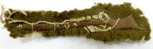 5 1930s WW2 Marksman's Single Rifle Cloth Badge