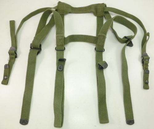 Vintage US Army M-1956 pattern Sleeping Bag Straps