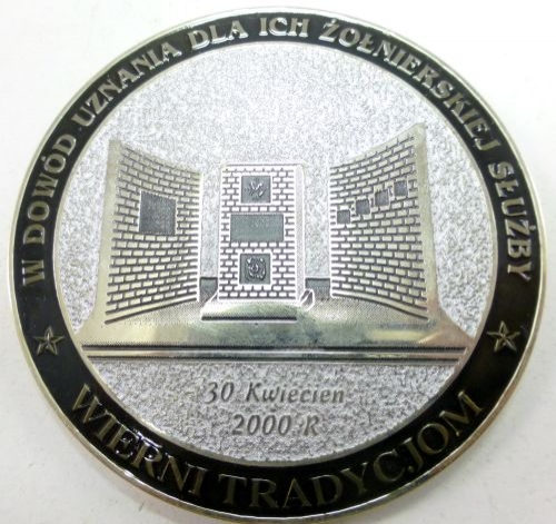 Vintage Polish Military Commemorative Medal