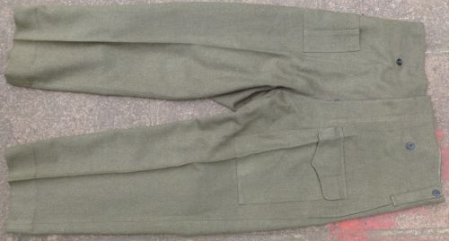 Original WW2 Australian Made Battledress Trousers Large