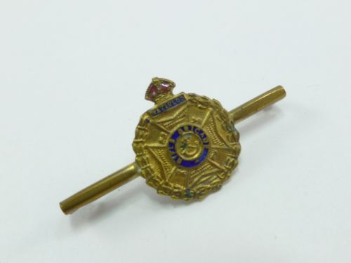 WW1 WW2 Rifle Brigade Sweetheart Brooch