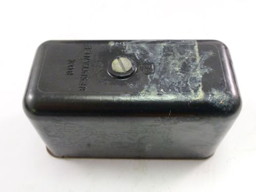 WW2 Air Ministry Box Resistance 5C/586