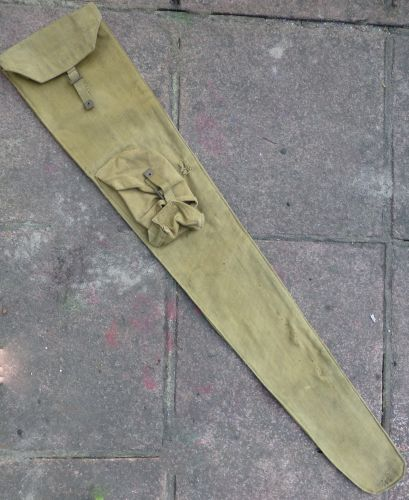 Original WW2 British Sniper Rifle Case Dated 1942