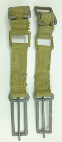 Unusual WW2 British Army Brace Attachments 1944