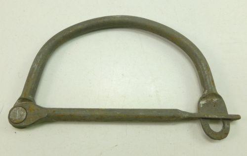 WW1 WW2 British Army Economy Steel Kit Bag Lock
