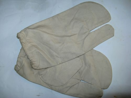 Un-issued WW2 British Army Snow Camouflage Gloves