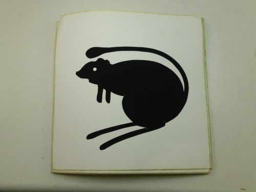 Original 4th Armoured Brigade Vehicle Sticker