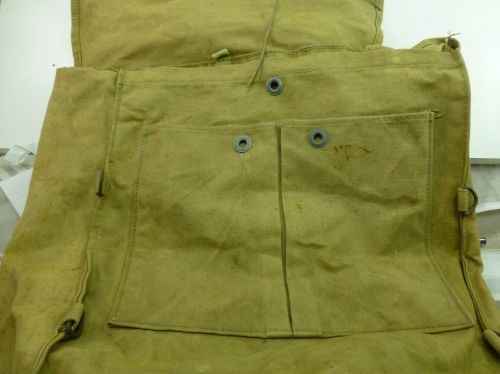 Un-Identified WW2 British, Australian? Back Pack