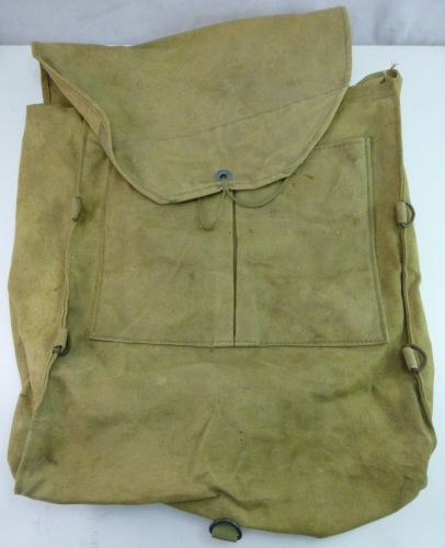 Un-Identified WW2 British, Australian? Back Pack