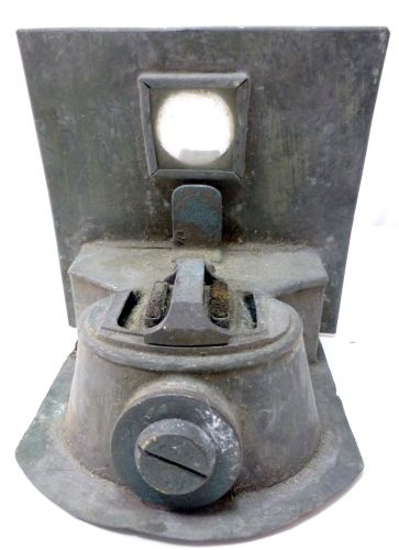 3 Royal Navy Port & Starboard Lamp & Binnacle 1924